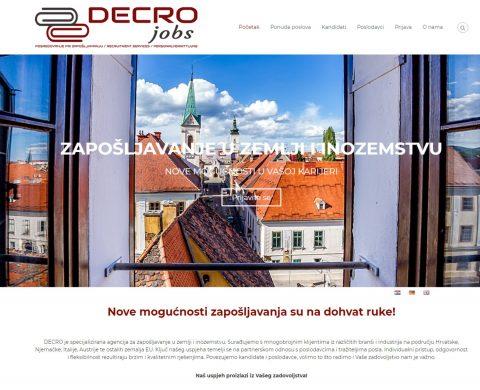DECRO usluge - Zapošljavanje u zemlji i inozemstvu